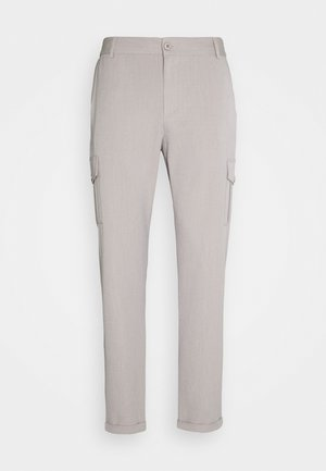 PINO CARGO PANTS - Spodnie materiałowe - mirage grey