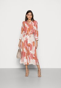 Rich & Royal - SHIRT DRESS PRINTED - Shirt dress - vintage rose - 1