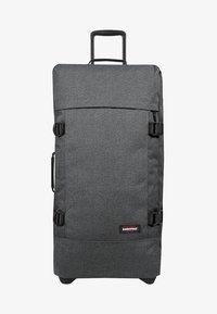 Eastpak - TRANVERZ L CORE COLORS - Wheeled suitcase - black denim - 2