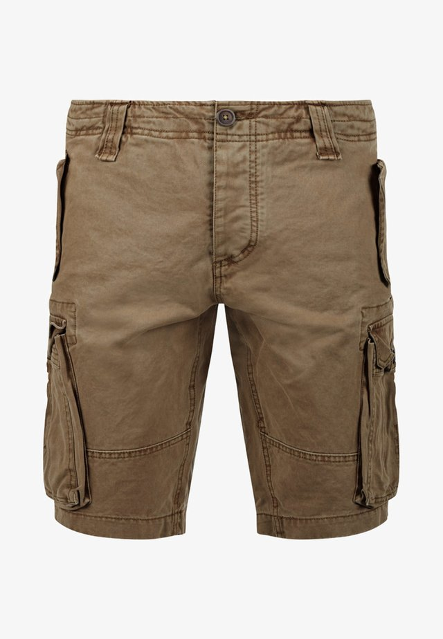 POMBAL - Shorts - brown