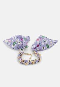 Pieces - PCROSA THREADED BRACELET - Bracelet - gold-coloured /purple - 0