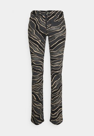 PANTALONE FIVE TASCHE - Slim fit jeans - black denim