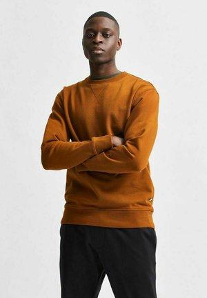SLHJASON CREW NECK - Sweatshirt - monks robe