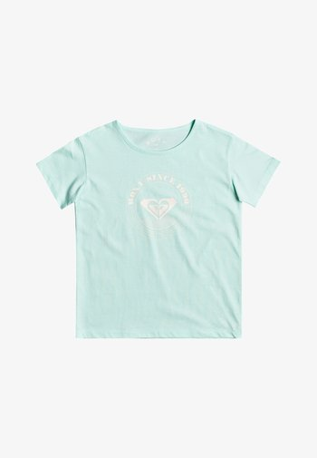 DAY AND NIGHT - Print T-shirt - brook green