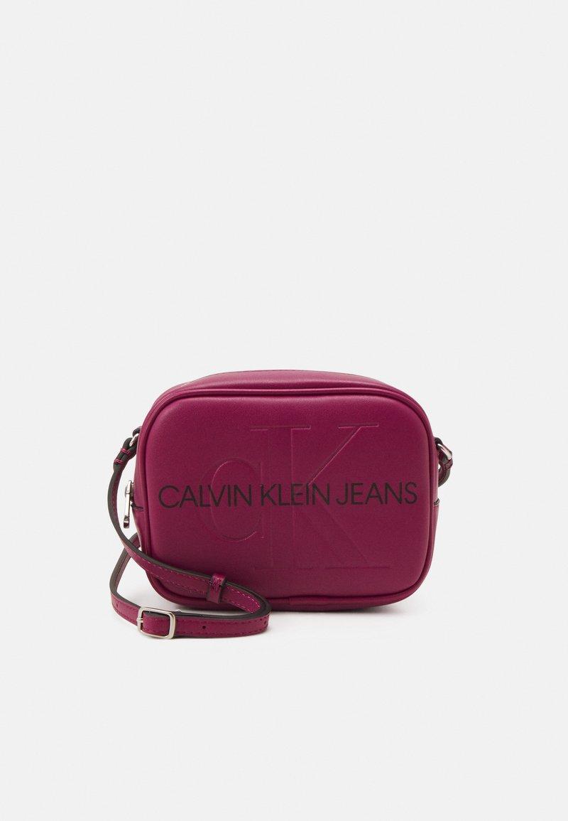 Calvin Klein Jeans - CAMERA BAG - Across body bag - dark clove