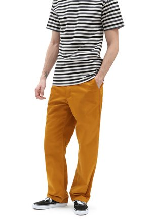 MN AUTHENTIC CHINO LOOSE PANT - Chinos - buckthorn brown
