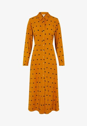 OBJBAYA  - Shirt dress - buckthorn brown