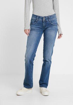 GEN - Straight leg jeans - light-blue denim
