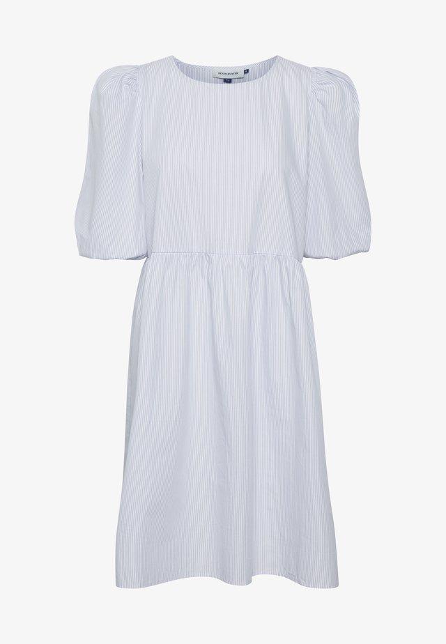DHHOLLY - Vestito estivo - white/ light blue stripe