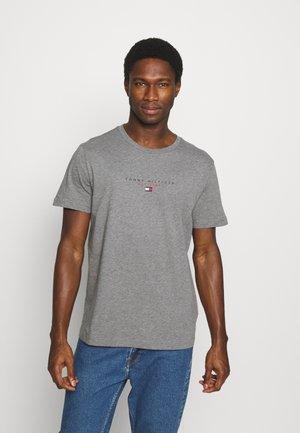 ESSENTIAL - T-shirt z nadrukiem - medium grey heather