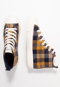 ONLY SHOES - ONLSALONE - High-top trainers - yellow - 3