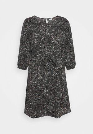 JDYPIPER 3/4 PUFF DRESS - Day dress - black