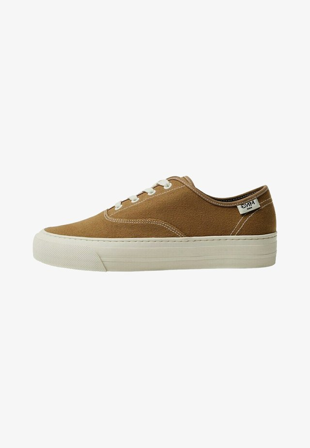 FABRIC - Sneakers laag - beige