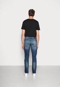 G-Star - 3301 STRAIGHT FIT - Straight leg jeans - joane stretch denim - worker blue faded - 2