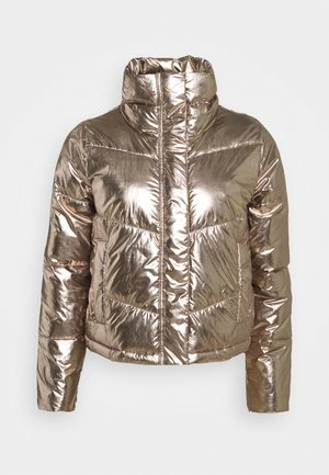 Winter jacket - metallic