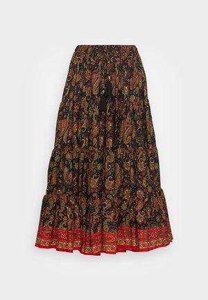 CABOTAGE - Áčková sukně - noir