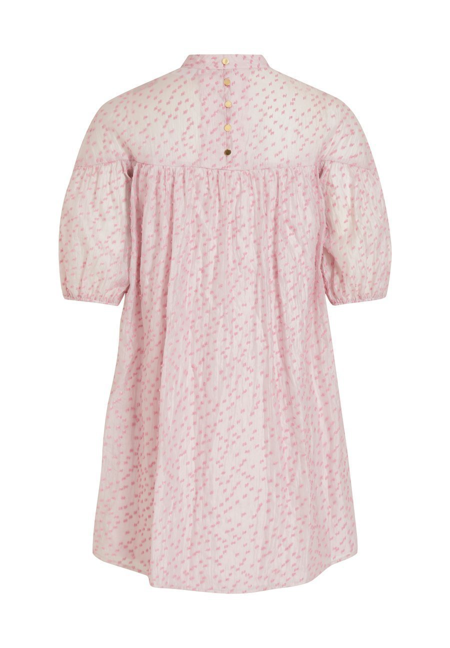 Vila GEMUSTERTES KURZÄRMELIGES - Robe d'été - rosebloom