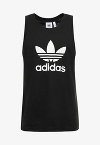 TREFOIL TANK - Top - black