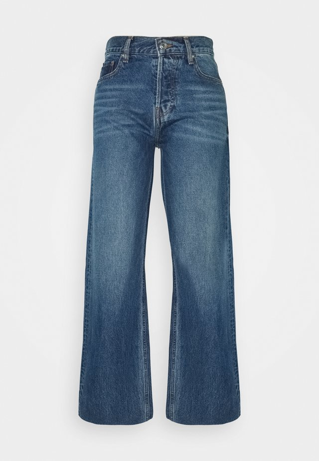 ORCHAE - Jean droit - authentic blue denim