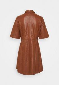 Part Two - EDYTA - Day dress - chocolate glaze - 1