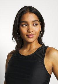 LASCANA - SWIM SHIRT MATCH - Bikini top - black - 4