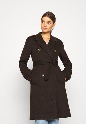 YASCHADRO COAT - Płaszcz wełniany /Płaszcz klasyczny - rubber