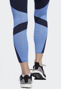 adidas Performance - HOW WE DO 7/8 LIGHT LEGGINGS - Collants - blue - 4