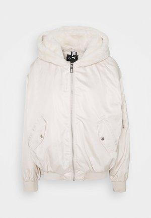 ONLCARA JACKET - Zimní bunda - pumice stone
