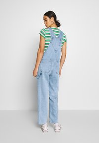Monki - CIARA DUNGAREES - Overall /Buksedragter - blue medium dusty - 2