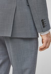 s.Oliver BLACK LABEL - Veste de costume - dark blue check - 6