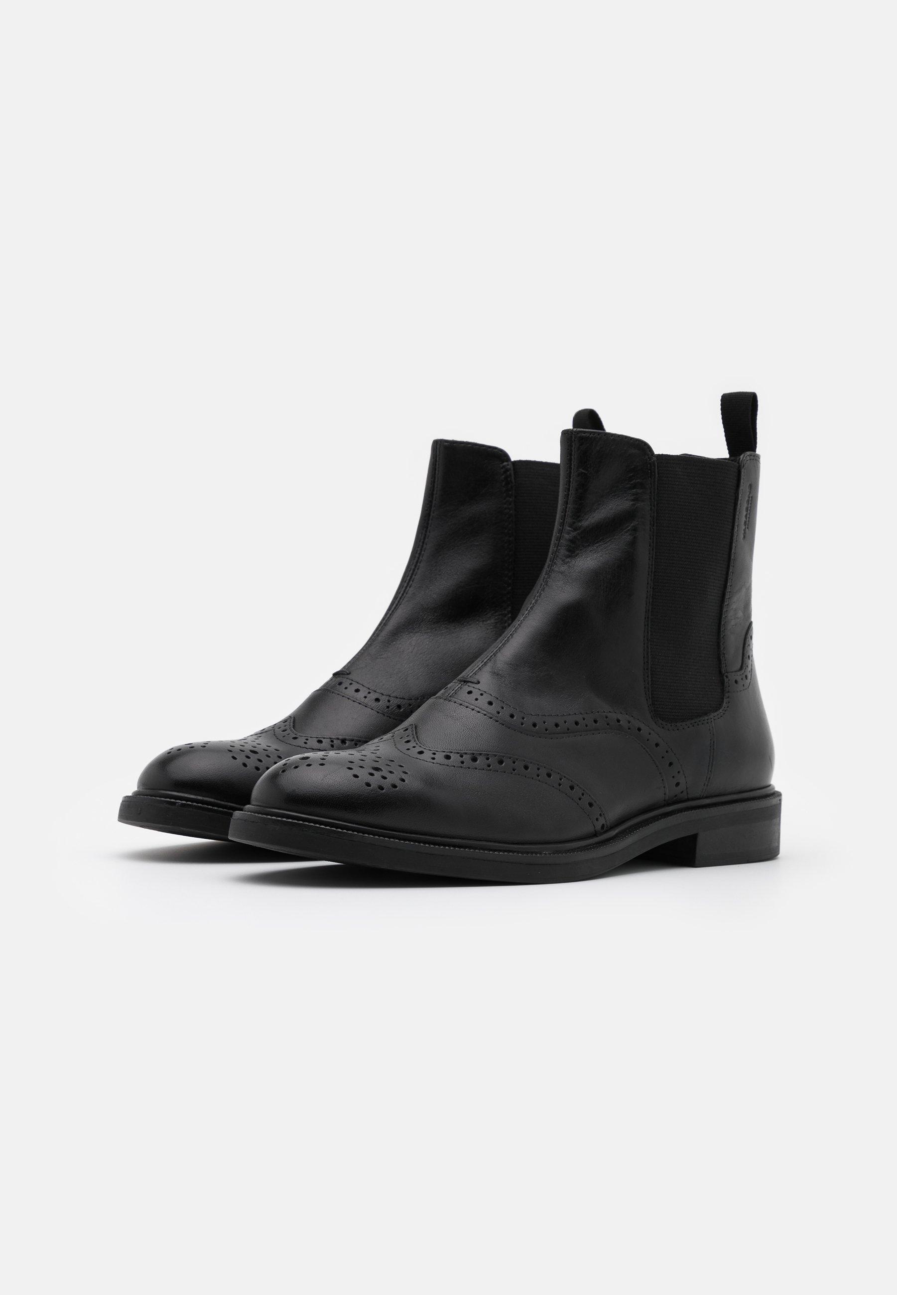 Vagabond Amina - Støvletter Black/svart