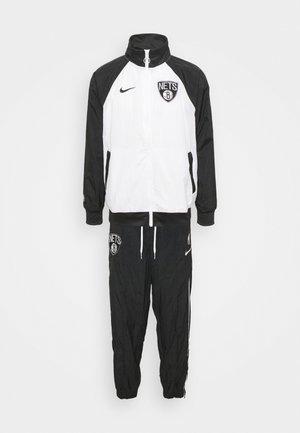 NBA BROOKLYN NETS TRACKSUIT - Športne kratke hlače - white/black