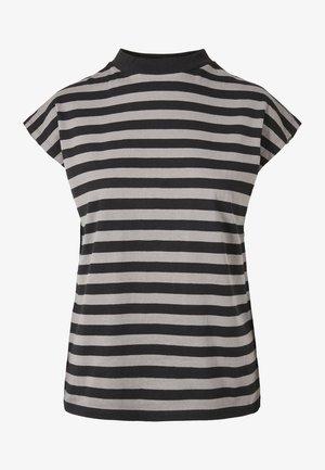 Y/D STRIPE - Basic T-shirt - asphalt/black