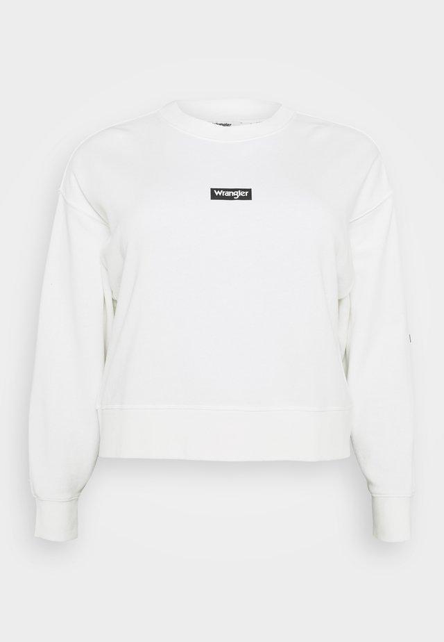 HIGH RIB BOXY RETRO - Sweater - off white