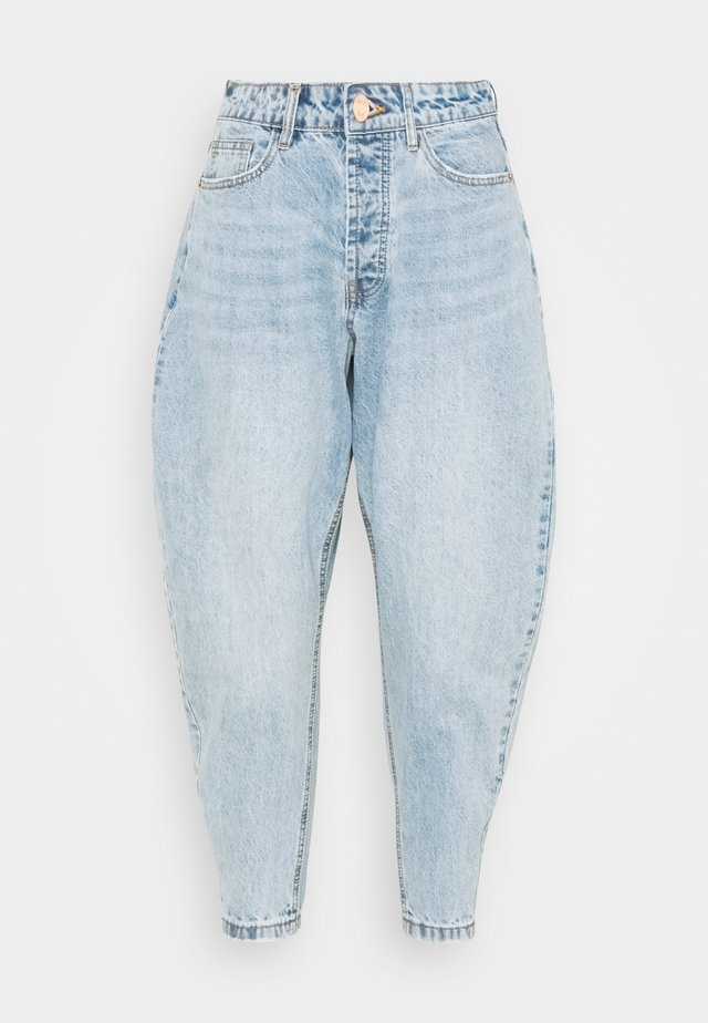 PETITE CLEAN TAPERED - Relaxed fit jeans - blue