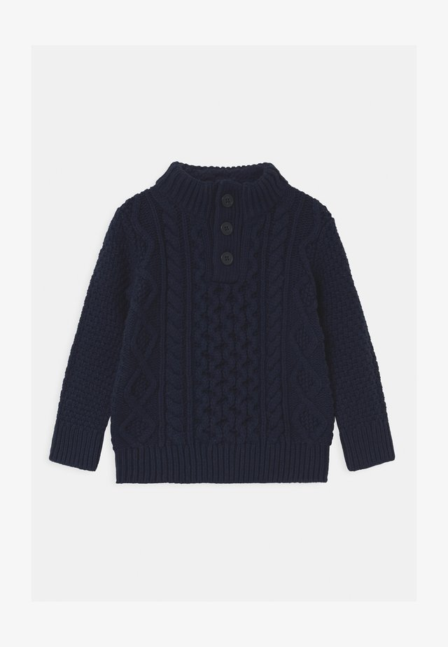 TODDLER BOY CABLE - Pullover - tapestry navy