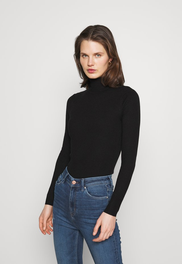 NEW ROLL - Sweter - black