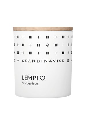 SCENTED CANDLE WITH LID - Geurkaars - lempi