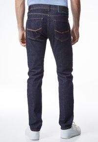 Pierre Cardin - FLEX - Straight leg jeans - dark-blue denim - 2