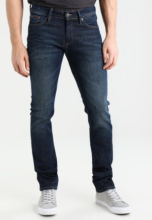SLIM SCANTON DACO - Slim fit jeans - dark