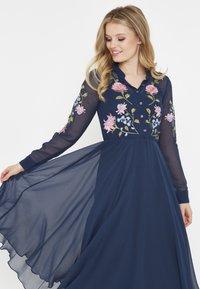 BEAUUT - Shirt dress - navy - 3