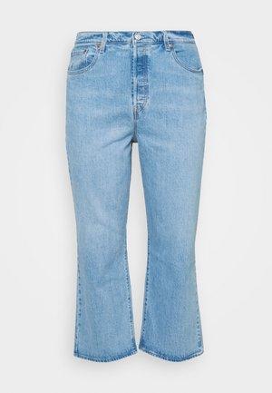 PL RIBCAGE STRAIGHT ANK - Straight leg jeans - tango gossip plus