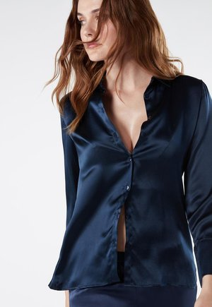 MIT UMSCHLAGMANSCHETTE - Pyjama top - blu intenso