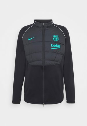 FC BARCELONA WINTERIZED - Club wear - black/new green