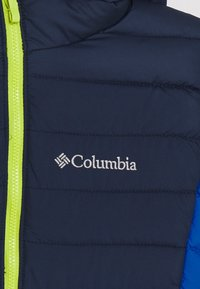 Columbia - POWDER LITE BOYS HOODED - Snowboard jacket - bright indigo/collegiate navy - 3
