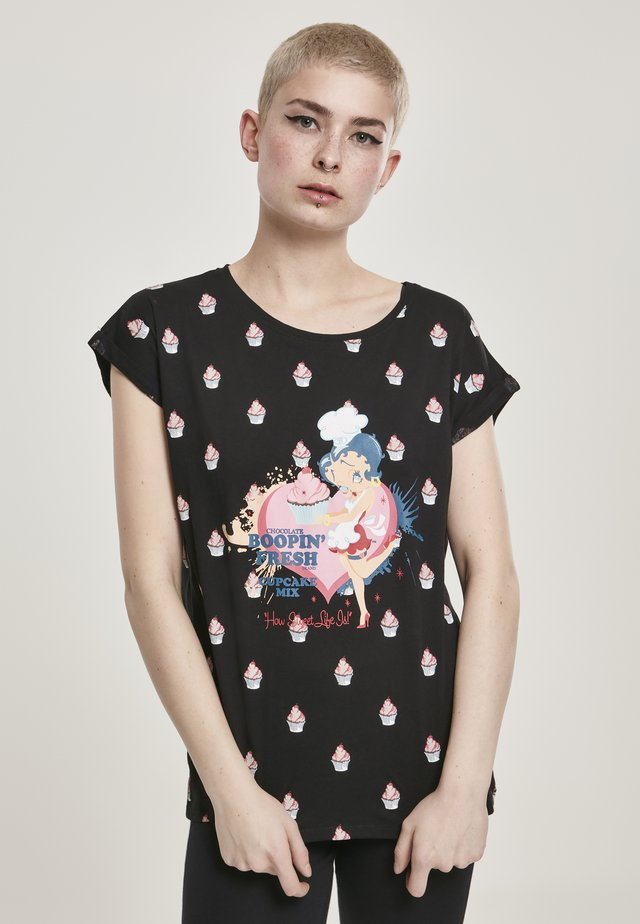 BETTY BOOP  - Print T-shirt - black