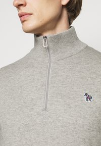 PS Paul Smith - MENS ZIP NECK ZEBRA - Jumper - grey - 5