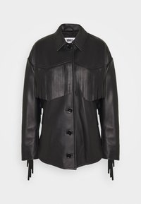 MM6 Maison Margiela - Veste en cuir - black - 0