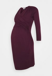 Envie de Fraise - DIVINE - Jersey dress - aubergine - 0