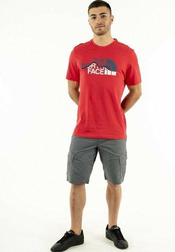 Print T-shirt - rouge
